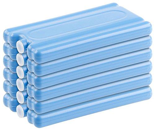 PEARL Kühlakku: 6er-Set Kühlakkus mit je 200 g Füllung, für bis 12 Stunden Kühlung (Kühltasche mit...