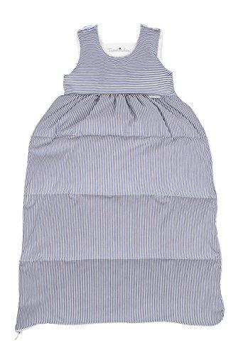 Tavolinchen Babyschlafsack Daunenschlafsack'Streifen klassisch' Kinderschlafsack - marine...