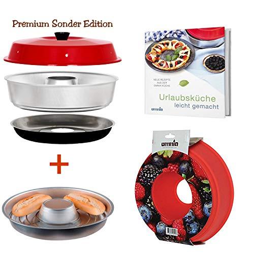 Omnia Backofen Spar-Set Premium Edition 4-teilig