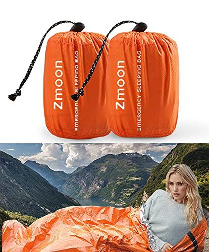 Premium Rettungsdecke Rettungsfolie Notfalldecke Notfall-Zelt Biwaksack Survival...