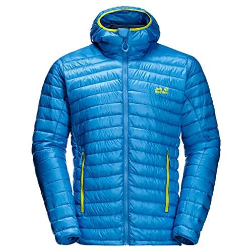 Jack Wolfskin Herren Mountain Daunenjacke, Brilliant Blue, S