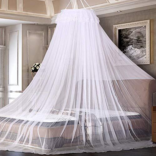 AIMTOP Moskitonetz, Weiß Mückennetz für Reise und Zuhause, Moskitonetz Bett...
