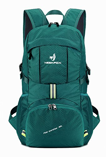NEEKFOX Leichte Packable Reiserucksack Wanderrucksack, Tagesrucksack, 35L Faltbare Camping...