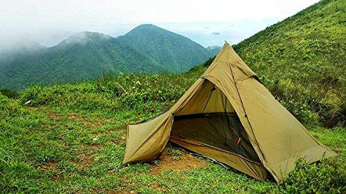 OneTigris TIPINOVA Ultraleicht Pyramiden-Zelt Campingzelt für 2 Personen, Keine...