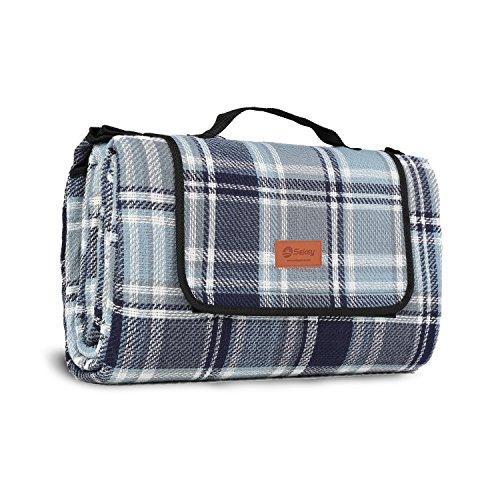 Sekey Picknickdecke Wasserdicht für Draußen mit tragbarem Griff aus DREI Schichten 200 x...