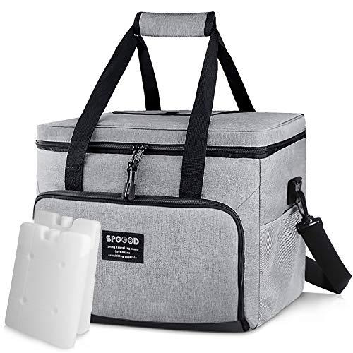 SPGOOD 20L Kühltasche Thermotasche Picknicktasche Lunchtasche Isolierte Tasche Cooler Bag...