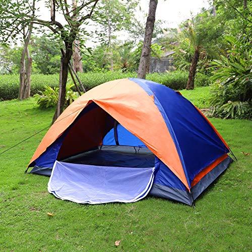 Kuppelzelt Outdoor Zelt für 1-2 Personen Wasserdicht&Winddicht Schnellöffnungs Wurfzelt mit Tragetasche für...