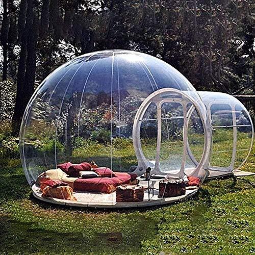 Sucastle Indoor Outdoor Aufblasbares Bubble Camping Zelt Pavillon Tragbares...