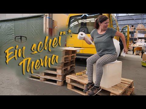 Trockentrenntoilette für 60 Euro selbst bauen・Campervan Selbstausbau・DIY Campervan・VW Crafter