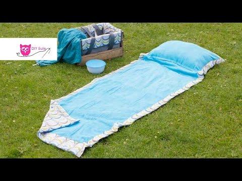 Picknickdecke nähen mit Kissen / DIY Eule & Frlein Pusteblume