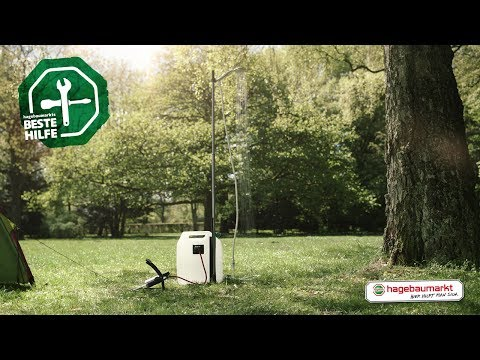 """Outdoor-Erfrischung selber bauen - DIY Anleitung """"Open-Air-Dusche"""""""