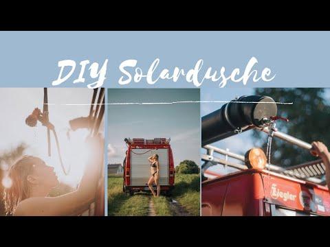 DIY Solardusche für 50€ | Dusche aus Abwasserrohr bauen |Vanconversion