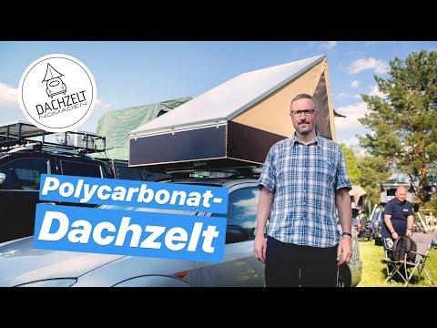 Polycarbonat-Dachzelt: Einfach selbst gebaut!