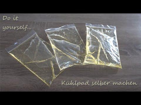 Kühlpad selber machen - DIY Kühlpack selbst herstellen
