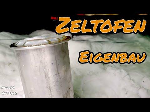Zeltofen Eigenbau - NUR 3 TEILE - wieviel Grad bringt der günstige Eigenbau..???? incl. Links
