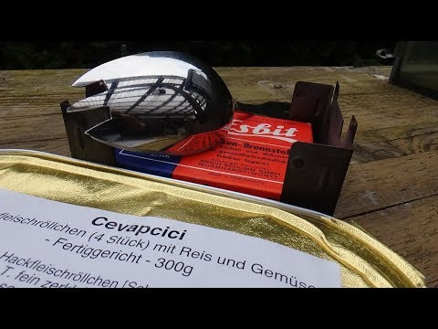 Outdoor Werkzeug Göffel selbst gebaut