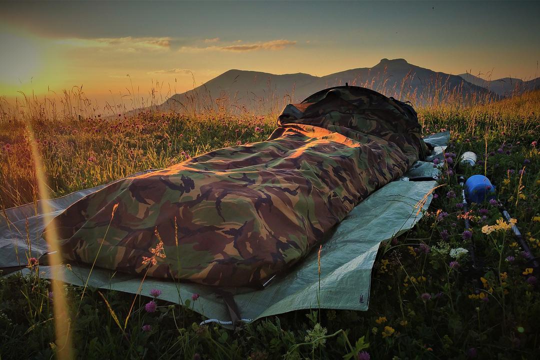 Outdoor Biwaksack Notfallzelt Notfall Schlafsack für Wandern Jagd Camping,