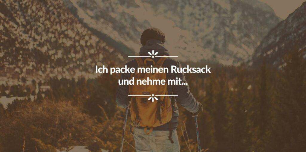 wildcampen_packliste